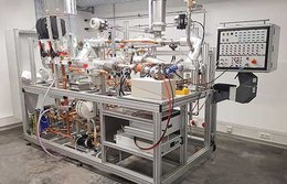 Keyvisual: Radial Compressor Test Bench for eCharger and fuel cell applications