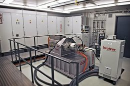 Electric motor test benches by kratzer automation for Electric motor test bench