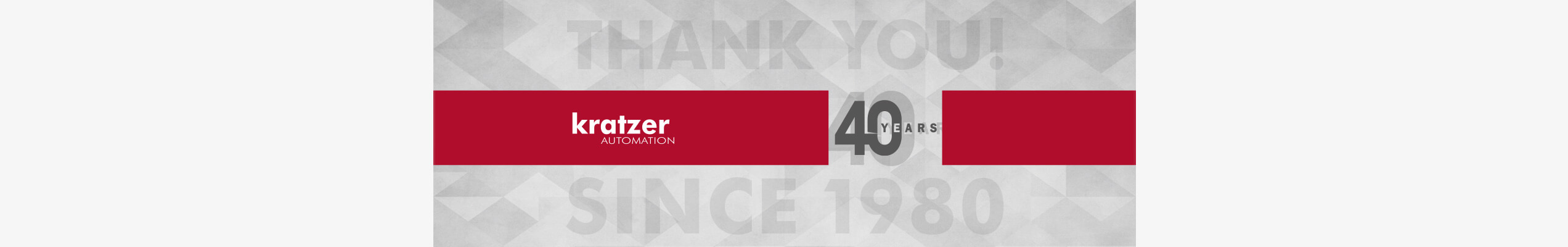 40 Years of KRATZER AUTOMATION