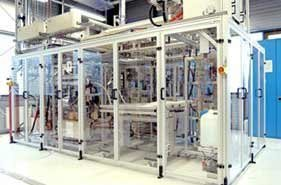 Fuel cell test stands