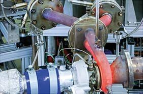 Turbocharger test stands
