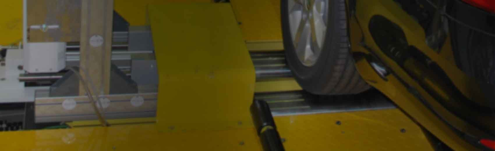 Header: Wheel Alignment Machine